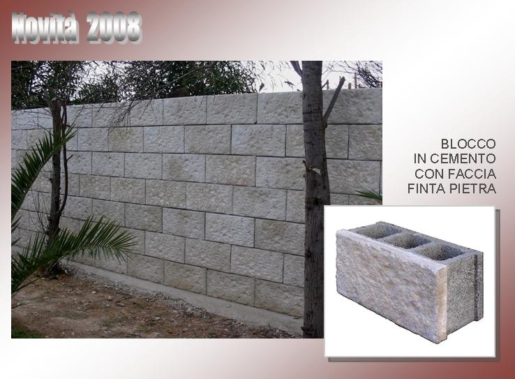 Muretti di recinzione prefabbricati prezzi cemento for Disegni di blocchi di cemento casa